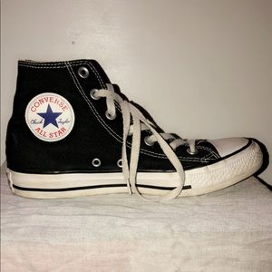Black All Star Converse